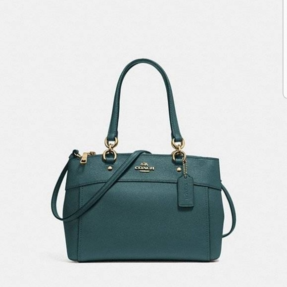 e5be809d10c Coach Bags   Nwt Mini Brooke Carryall Dark Turquoise   Poshmark